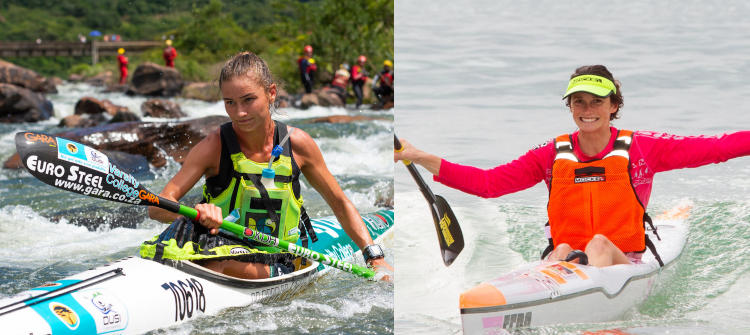 New women's K2 crew of Van Gysen and Mackenzie lay down a marker